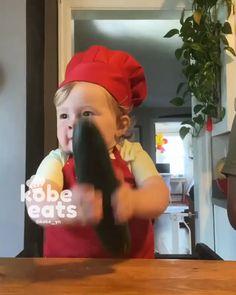 #kobeyn #kobeeats #kobewian #kobe #cheflife #chefkobe #cook #cooking #food #instafood #igdaily #igers #igfood #babyboy #foodie #chicken #kid #childhood #children #happy #kitchen #lemon #نی_نی #پسربچه #پسر #بچه #عشق #آشپز#شف#آشپزی#سرآشپز#نینی#غذا#خوشمزه#سرآشپزکوبی#مسترکوبی#مستر_کوبی#شف_کوبی #chefkobe #cheflife #chef #kobe_chef #kobe_yn #kobechef #kobeeats #chef_kobe #kobecooker #kobefan #cutebaby_lovly #baby_cliip #kobe_cooker Funny Cute Cats, Cute Funny Babies, Funny Kids, Cute Kids, Baby Cooking, Cooking Food, Cute Funny Baby Videos, Funny Videos For Kids, Beautiful Children