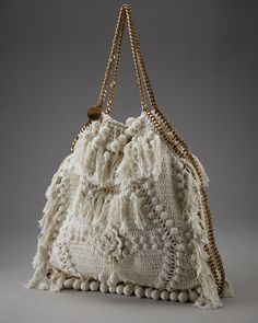 Stella McCartney crocheted bag