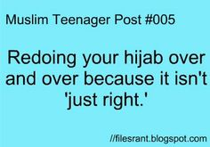 I take about 1 hour just for my hijab