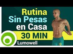 Entrenamiento Sin Pesas en Casa - Rutina de Ejercicios para Tonificar el Cuerpo - YouTube