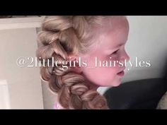Extra Big Dutch braid by Two Little Girls Hairstyles - YouTube