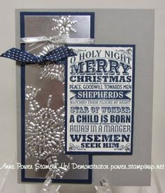Stamps, Paper, Ink Create!: Oh Holy Night Stamp-Card Buffet Card 4