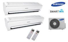 Climatizzatore SAMSUNG dual split 9000 BTU + 9000 BTU