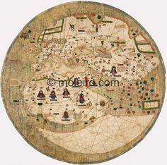 Estense World Map (Year: c. 1450) Estense Library, Modena