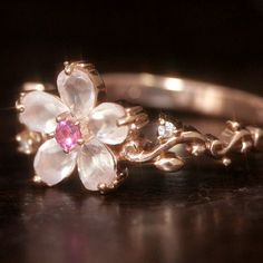 Cherry blossom ring. I LOVE this!