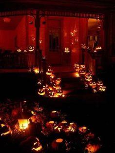 Spooky Halloween, Theme Halloween, Outdoor Halloween, Holidays Halloween, Halloween Pumpkins, Halloween Crafts, Happy Halloween, Halloween 2018, Vintage Halloween