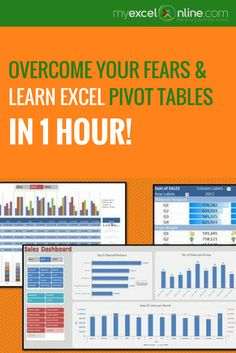 Free Excel Pivot Table Webinar That Will Improve Your Excel & Analytical Skills Overnight! | Learn Microsoft Excel Tips + Free Excel Tutorials & Cheat Sheets |  The Most In-Depth Excel Video Courses Online at http://myexcelonline.thinkific.com/