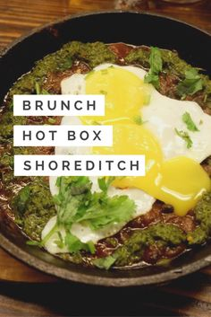 Hotbox Shoreditch East London is a cool BBQ joint that's a perfect place for a brunch, dinner or lunch. With long sharing tables it's especially good for group dining full review on Emma Inks blog