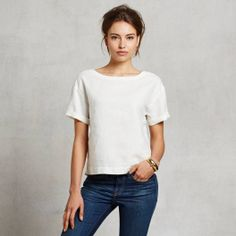 Mei Top found on Zady - www.zady.com/products/341 - via @Zady #zady #style #fashion #stevenalan