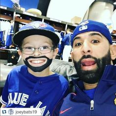 What's better than one Jose Bautista? Two Jose Bautistas, of course. Baseball Players, Baseball Cards, Baseball Stuff, America's Pastime, O Canada, Toronto Blue Jays, Girls Best Friend, Mlb, Sports Teams