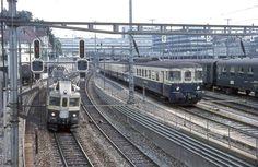 Swiss Railways, Bahn, The Unit, History, Coaches, Travel, Trains, Europe, Photo Illustration