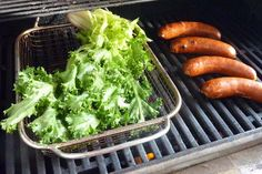 Fun way to eat more greens: try grilling curly endive!