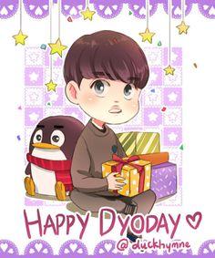Happy Birthday EXO Main vocal Squishy Soo~!! ♥♥♥   @duckhymne Tumblr