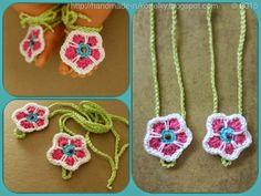 Flower Barefoot Sandals 4 Baby - video & pattern