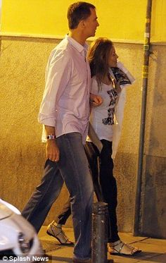 16 JULY 2014 A dressed-down King Felipe VI and Queen Letizia enjoy a rare night off royal duties with a trip to the movies Royal couple seen leaving cinema in Madrid after date night Both were dressed casually for the rare night off Have had a full calender of royal engagements since coming to the throne.