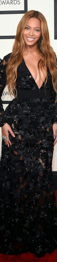 Beyonce in Proenza Schouler / 2015 Grammy Red Carpet Fashion