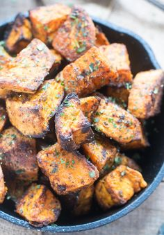 Tandoori Roasted Spicy Sweet Potatoes   whitbitskitchen.com
