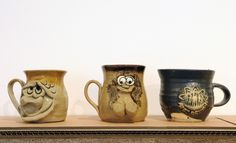 Ugly Mug, Ugly Mug Company, 1970s.  'Politics of Craft: After Ford 151', (2015), curated by Grizedale Arts, Reid Gallery, The Glasgow School of Art Photo: Alan Dimmick