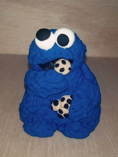 Cookie monster jumpingclay