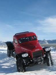 Rock Crawler, Chopped, Legacy Classic Trucks - Classic Dodge Power Wagon 1950 for sale Big Rig Trucks, Dodge Trucks, Cool Trucks, Classic Pickup Trucks, Dodge Power Wagon, Panel Truck, Old Tractors, Diesel Trucks, Vintage Trucks