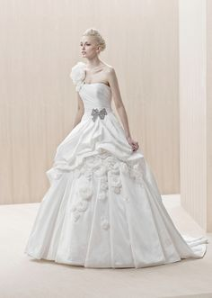 Dress of The Week + Blue by Enzoani 2012 - Belle the Magazine . The Wedding Blog For The Sophisticated Bride