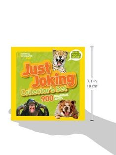 National Geographic Kids Just Joking Collector's Set (Boxed Set): 900 Hilarious Jokes About Everythi