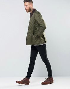 Barbour | Barbour Heritage Liddesdale Quilt In Olive