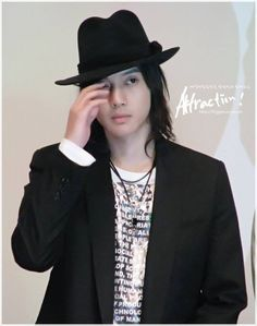 Kim Hyun Joong 김현중 ♡ hat ♡ long hair ♡ Kpop ♡ Kdrama ♡