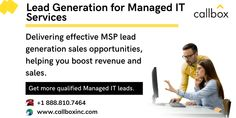 Our industry expertise allows us to provide qualified sales opportunities for IT Managed Services providers through Multi-Channel strategy and B2B lead generation services.  Call us today to learn more about our services! Dial 888.810.7464. Marketing Channel, Direct Marketing, Event Marketing, Sales And Marketing, Digital Marketing, Managed It Services, Yellow Pages, Tech Companies, Data Collection