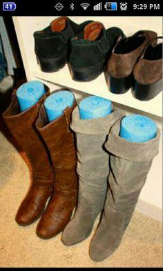 Creative Boot Storage