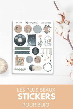 Bujo, Scrapbooking Stickers, Illustration, Journaling, Creations, Birds, Lettering, Etsy, Paper Mill