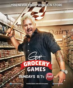 Guy Fieri's Grocery Games is Coming to Atlanta! Win $1000! Bernetta Style - http://bernettastyle.com/2013/11/guy-fieris-grocery-games-coming-atlanta-win-1000.html