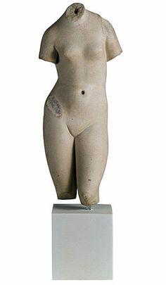 Marble Aphrodite Torso Hellenistic Greek statue sculpture Museum: Metropolitan Museum of Art Date: 1st century B.C. Period: Roman Imperial