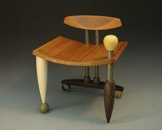 Illusions of Grandeur: Derek Secor Davis: Wood Chair - Artful Home