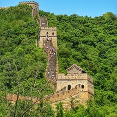 mthiessen The Great Wall of China. http://instagram.com/p/rlAnEsNvtl/