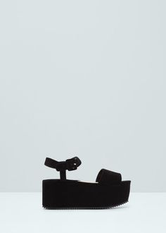 Sandalia pulsera plataforma - Zapatos de Mujer   MANGO