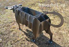 мангал бык