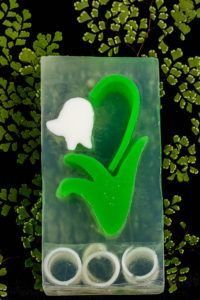 Lily of the Valley Clear Glycerin Soap