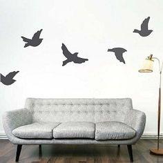 Flying Birds Wall Decals