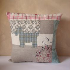 Roxy Creations: Scotty dog cushions