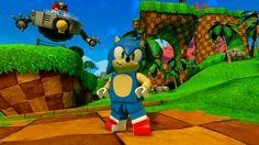 Lego Sonic Green Hill Zone