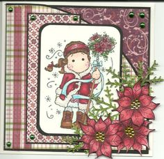 Image detail for -project recipe stamps magnolia silent night tilda magnolia pointsettia ...