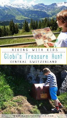 Globi's Treasure Hunt is a children's alpine trail with 11 treasure chests hidden along the path. Children use the contents of the chests to solve a puzzle and win a prize. There is also a big playground, alpine slide, barefoot path, water play, and lots of picnic areas. Great for families. Engelberg, Central Switzerland