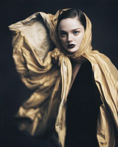 lisa cant by paolo roversi for w magazine