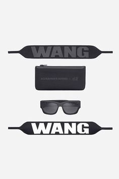 The ENTIRE Alexander Wang For H&M Collection — Right Here! #refinery29  http://www.refinery29.com/2014/10/76326/alexander-wang-hm-entire-collection-pictures#slide70  Alexander Wang for H&M Sunglasses, $34.95, available on November 6 at H&M.