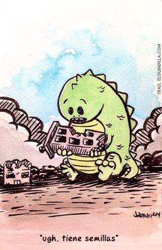 El pequeño Godzilla
