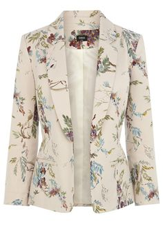 it comes to pretty lightweight blazers we think weve found our ultimate favourite as the Wisteria jacket is the prettiest of the bunch Whether you wear yours with the mat. Blazer Outfits, Blazer Fashion, Blazer Jackets For Women, Blazers For Women, Look Blazer, Blazer Pattern, Floral Blazer, Work Attire, African Fashion