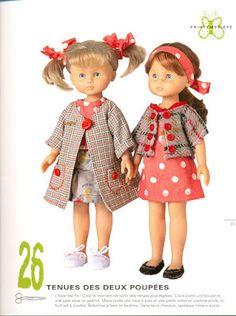Las chorradikas de Laury: Patrones abriguitos y zapatos nancyhttp://laschorradikasdelaury.blogspot.co.uk