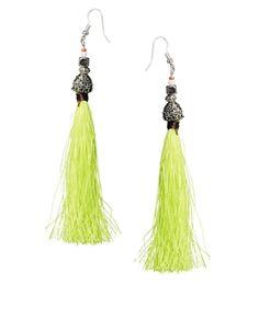 ASOS Tassel Bell Earrings