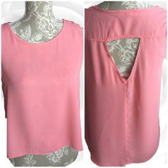 Elodie back cut out top Perfect condition . Tags worn but machine washable. Elodie Tops